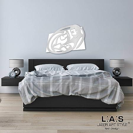Capezzali Per Camera Da Letto.L A S Laser Art Style Quadro Capezzale Sacra Famiglia Moderno Per