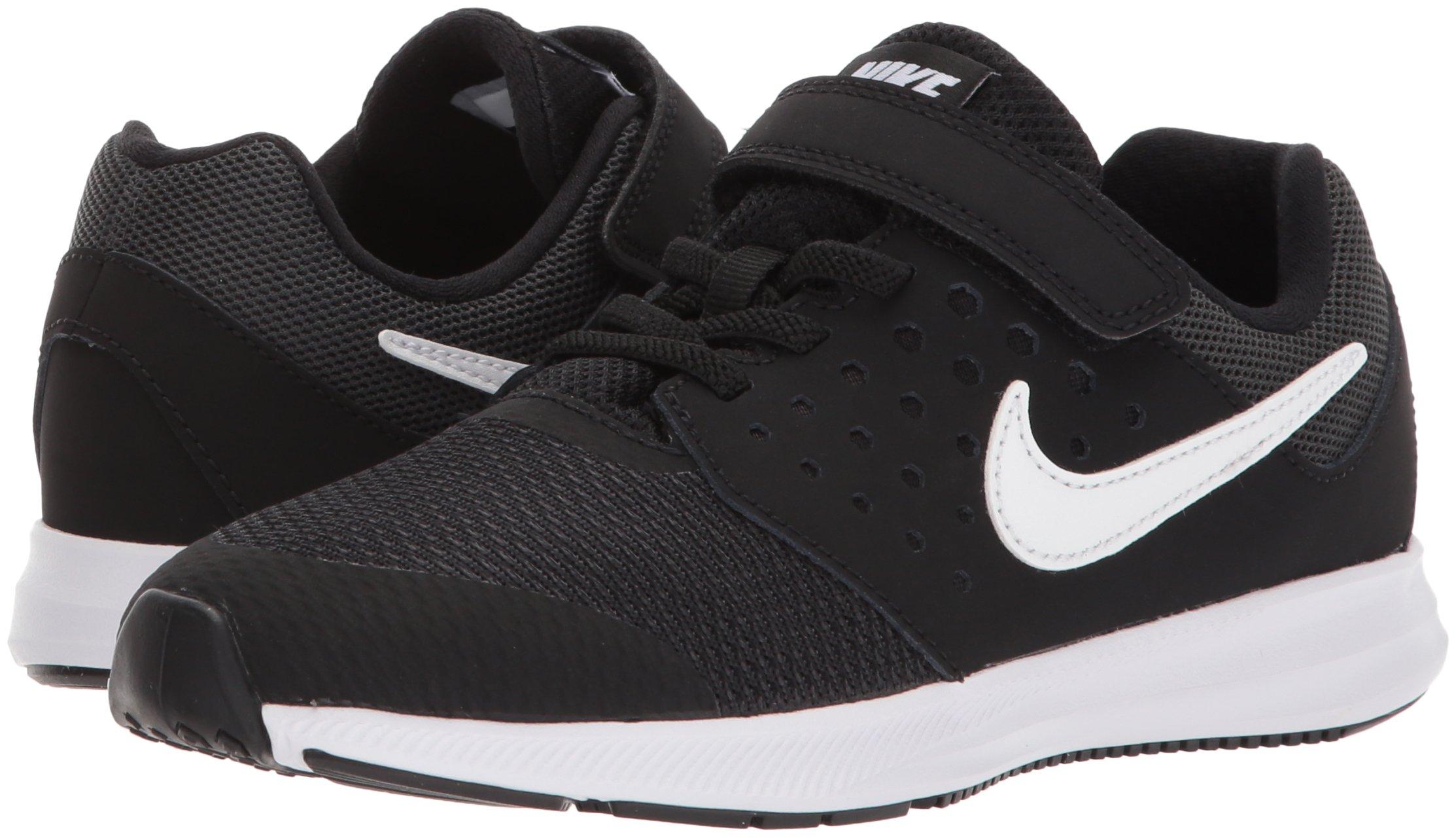 Nike Boys' Downshifter 7 (PSV) Running Shoe, Black/White-Anthracite, 3 M US Little Kid by Nike (Image #5)
