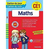Cahier du jour/Cahier du soir Maths CE1 - Nouveau programme 2016