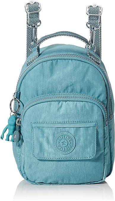Kipling Alber - Mochila para mujer (16 x 21,5 x 10,5 cm), color Azul, talla 16x21.5x10.5 cm (B x H x T): Amazon.es: Zapatos y complementos
