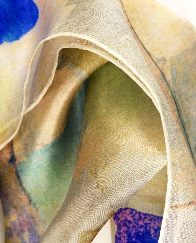 Silk scarfGaudis hues