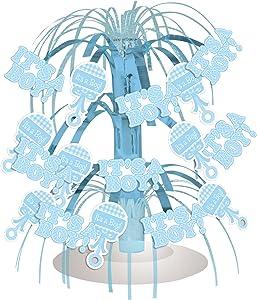 "Creative Converting Mini Cascade Table Centerpiece, 8.5"", Blue"