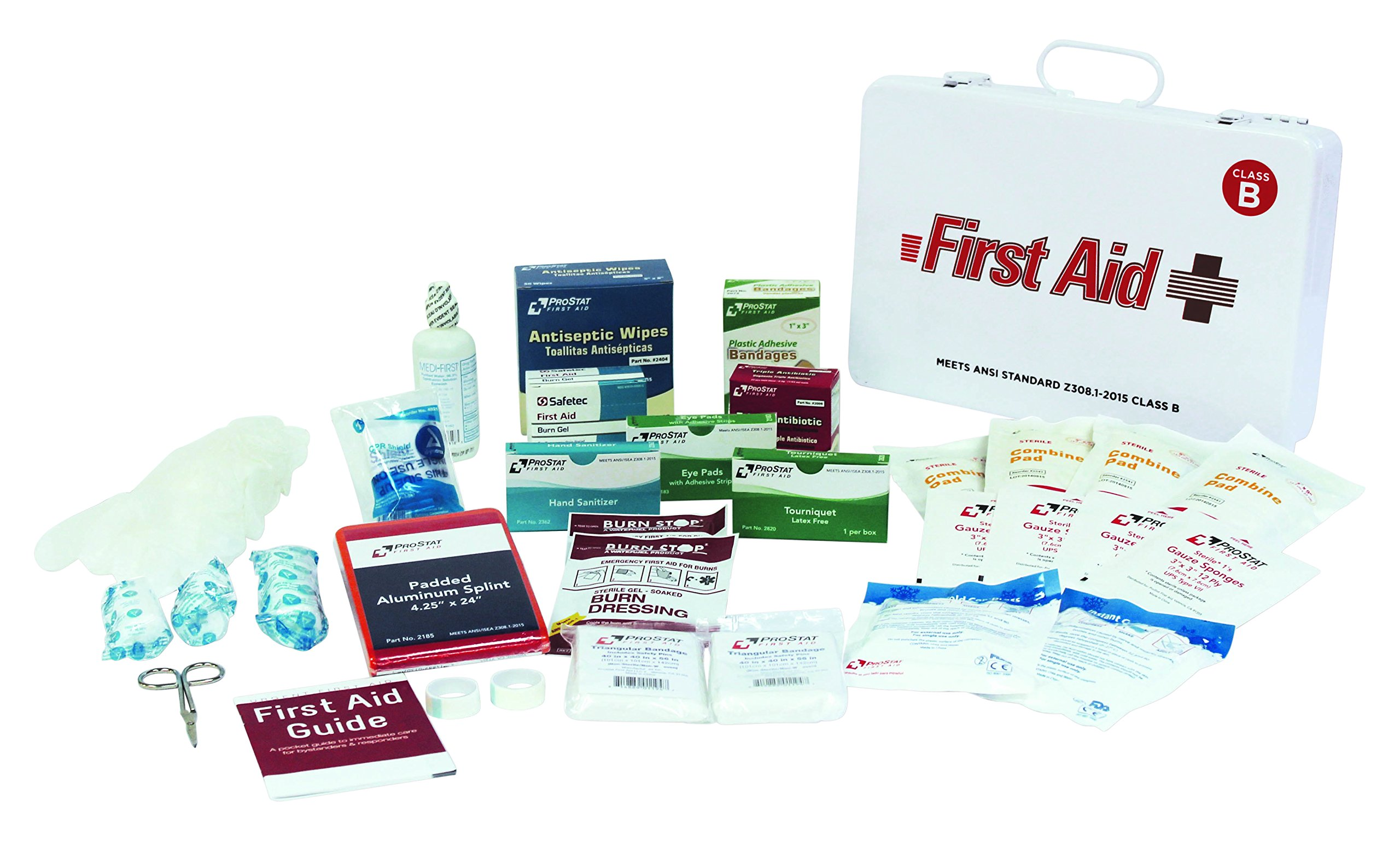 ProStat First Aid 1890 50 Person Class B First Aid Kit in Steel Case by ProStat First Aid (Image #1)