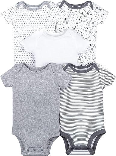 LAMAZE Baby Organic Shortsleeve Bodysuit