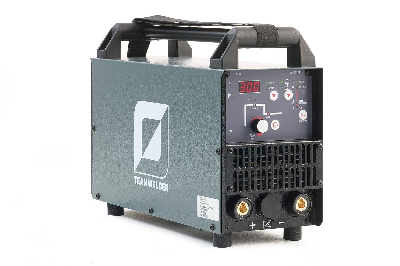 MMA 300 CEL electrodo Soldador inverter sudor dispositivo 300 Amperios electrodos de celulosa Team Welder: Amazon.es: Industria, empresas y ciencia