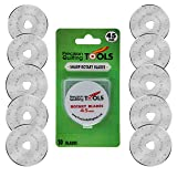 45mm Rotary Cutter Blades (Pack of 10) Compatible