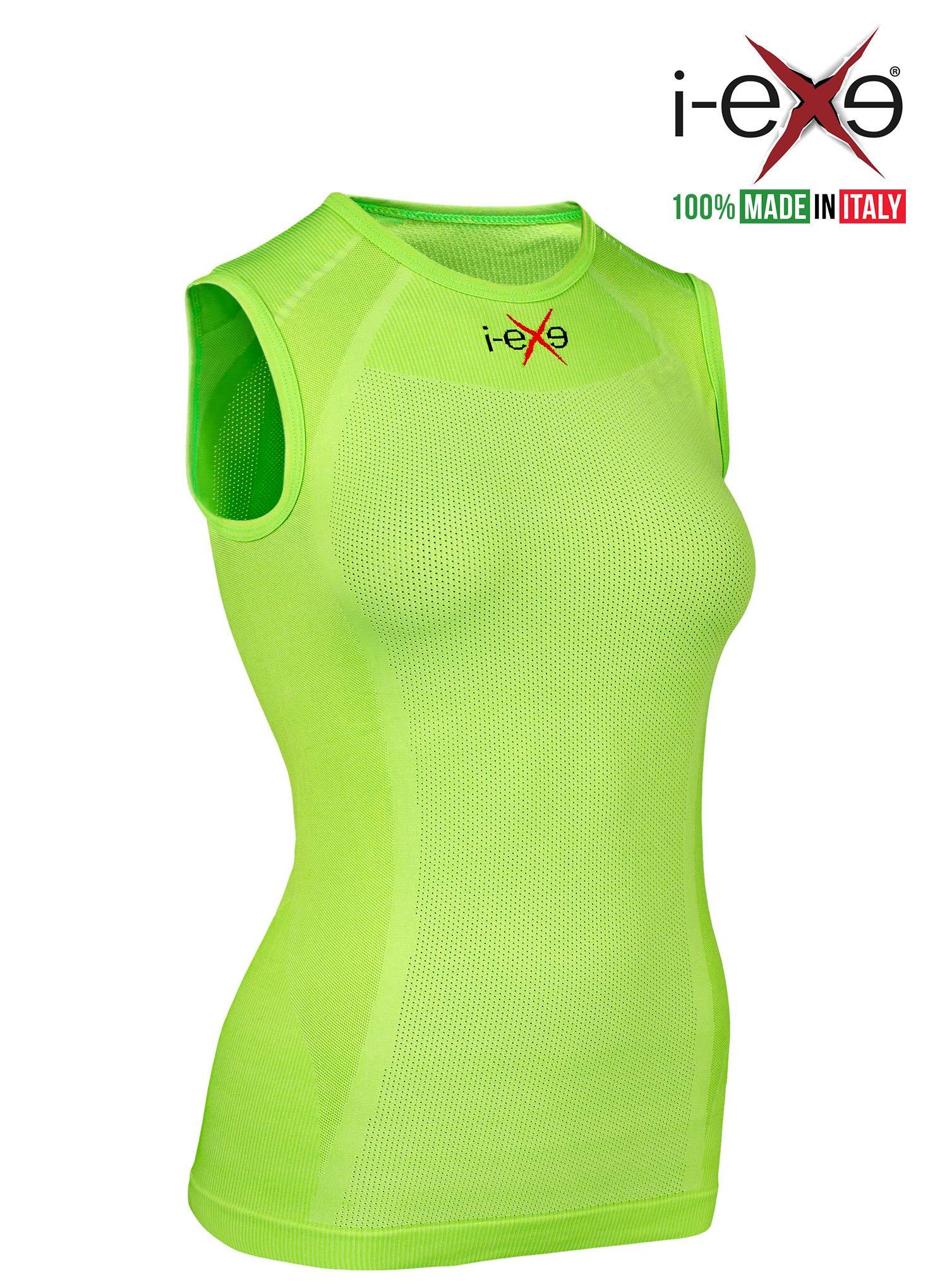 I-EXE Womens Compr Shirt CLR: Green, SZ: S to M