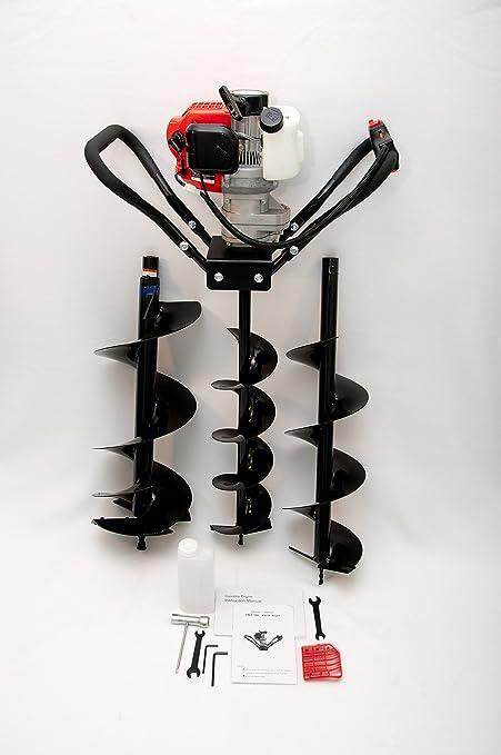 "Hand-Held Post Hole Digger//Earth Auger w//10/"" Bit 52cc 2.3hp Gas Engine EPA Cert"