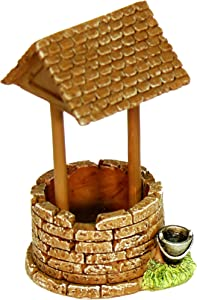 Echo Valley 6254 Mini Wishing Well Statue, 2.25 by 2.5 by 4-Inch