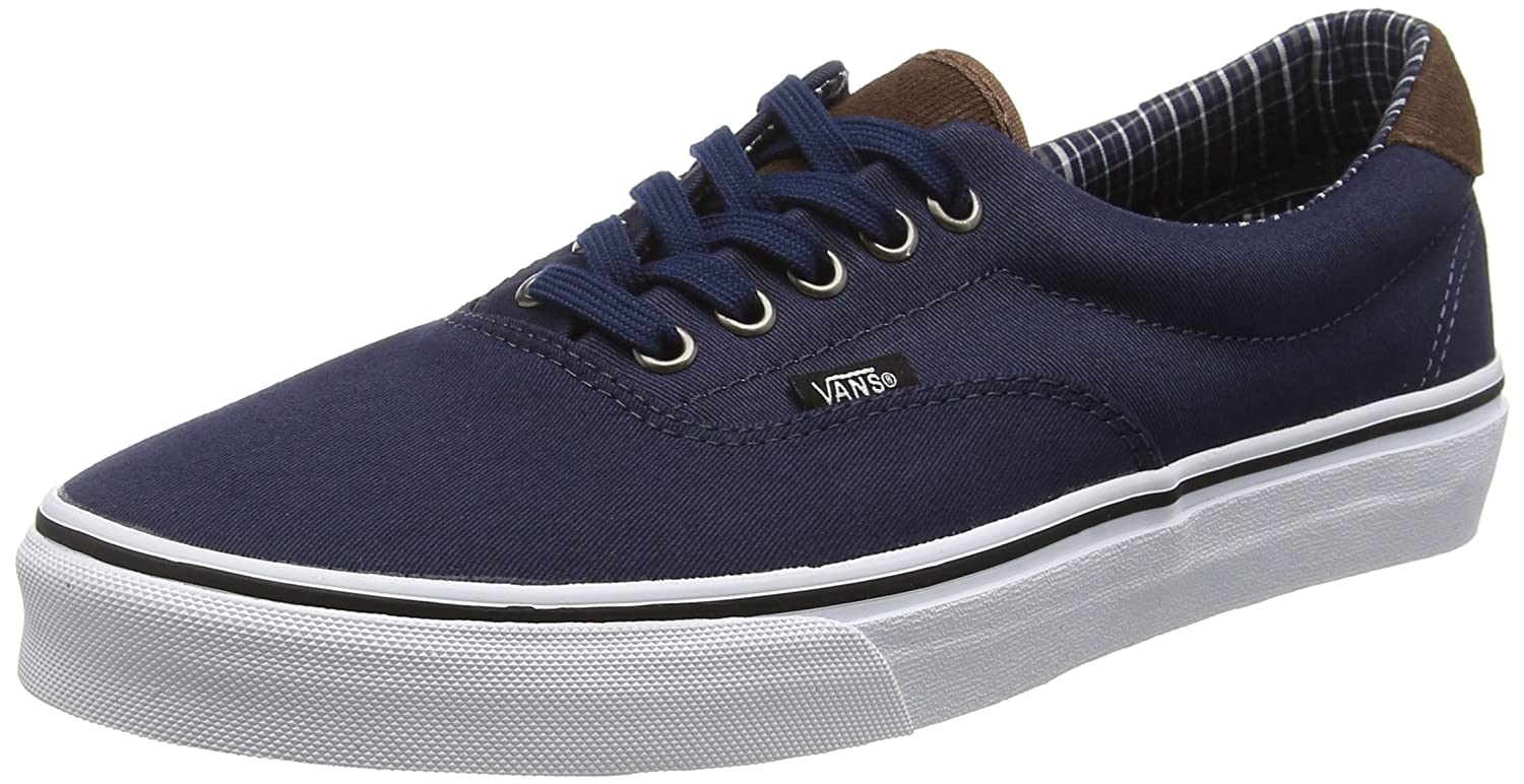 Vans Unisex Era 59 Skate Shoes B019HE13BY 5.5 M US Women / 4 M US Men|(Cord & Plaid) Dress Blue