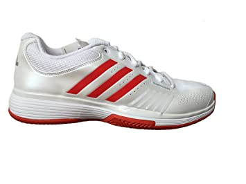 huge discount 5fbf0 7dd3d Adidas Adipower Barricade pour Femmes - Chaussures de Tennis Argile -  Taille 44 ⅔