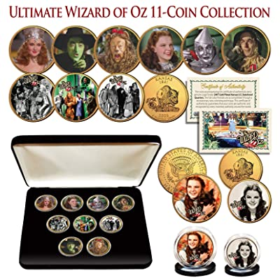 WIZARD OF OZ Kansas Quarter Gold Plated ULTIMATE 9-Coin Set w/BOX & 2 FREE COINS: Everything Else