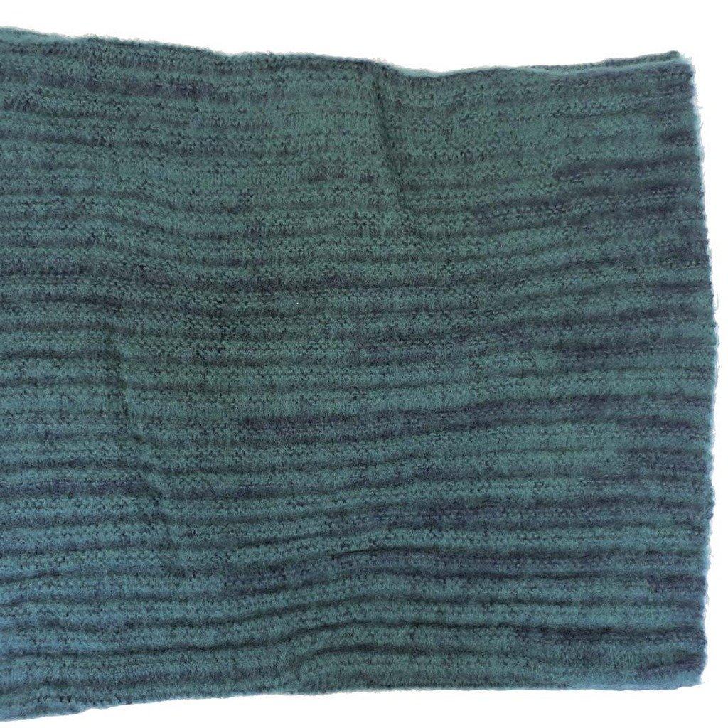 Corona Collection Fuzzy Rib Knit Infinity Scarf