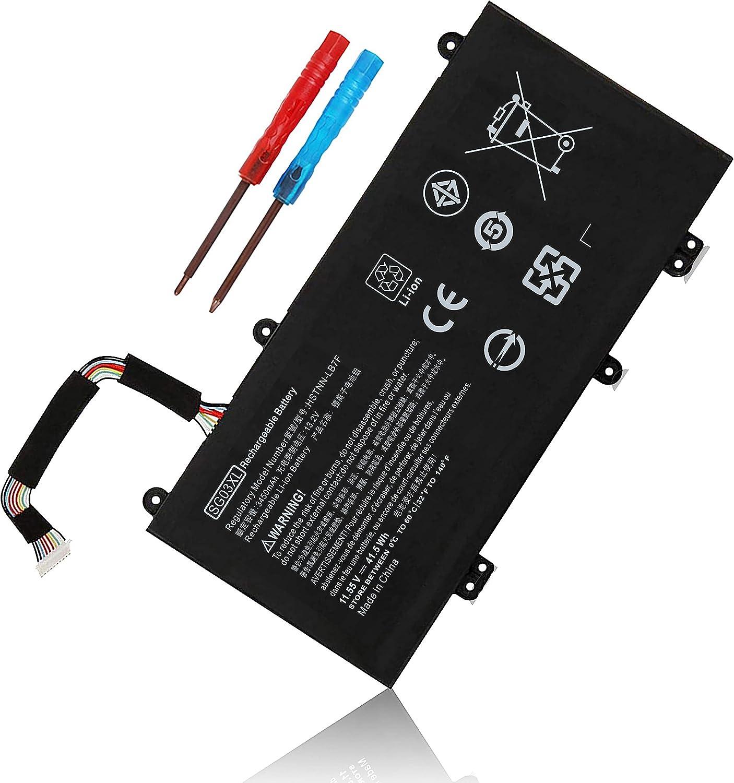 SG03XL 849048-421 Battery for HP Envy M7 M7-U009DX M7-U109DX 17T-U000 CTO 17-U273CL 17-U275CL 17-U163CL 17-U177CL HSTNN-LB7E HSTNN-LB7F W2K88UA W2K91UA W2K93UA 849315-856 849314-850 849315-850 41.5Wh