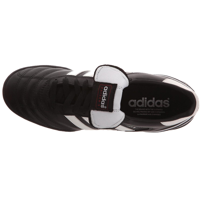 adidas Kaiser 5Team, Chaussures de Football Pour Homme - - Weiß (Ftwr White/Core Black/Core Black B34260), 41 1/3 EU