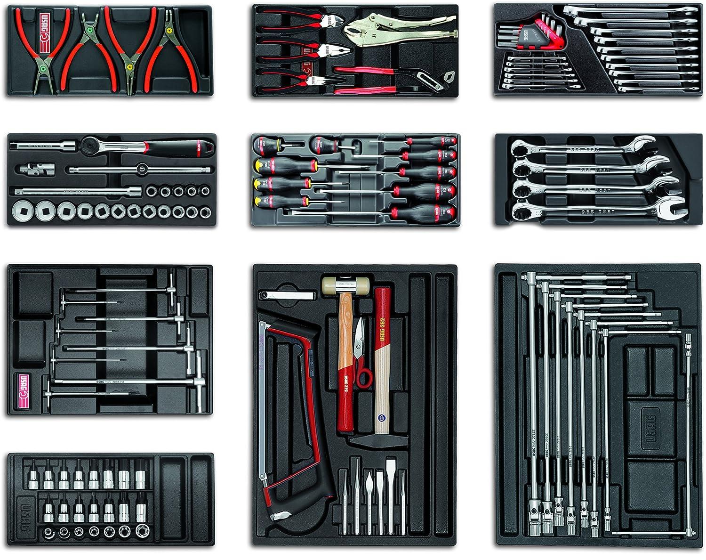 USAG U04950012 - Pack de 120 piezas conjunto auto 5 cajones: Amazon.es: Bricolaje y herramientas