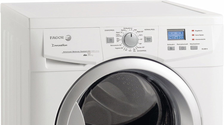 Fagor FG-2814 - Lavadora (A +, 59 L, LCD, 590 mm, 850 mm, 850 mm ...
