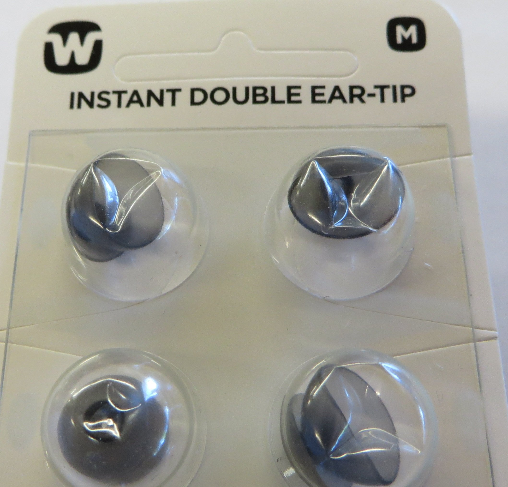 Widex Instant Double Ear Tip, Size Medium QTY:10 Dome Piece