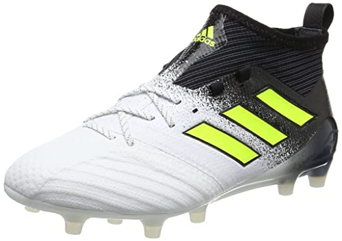 buy popular 51438 22494 Adidas Men s Ace 17.1 Fg Ftwwht Syello Cblack Football Boots - 10 UK