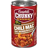 Campbell's Chunky Soup, Chili Mac, 18.8 Ounce (Packaging May Vary)