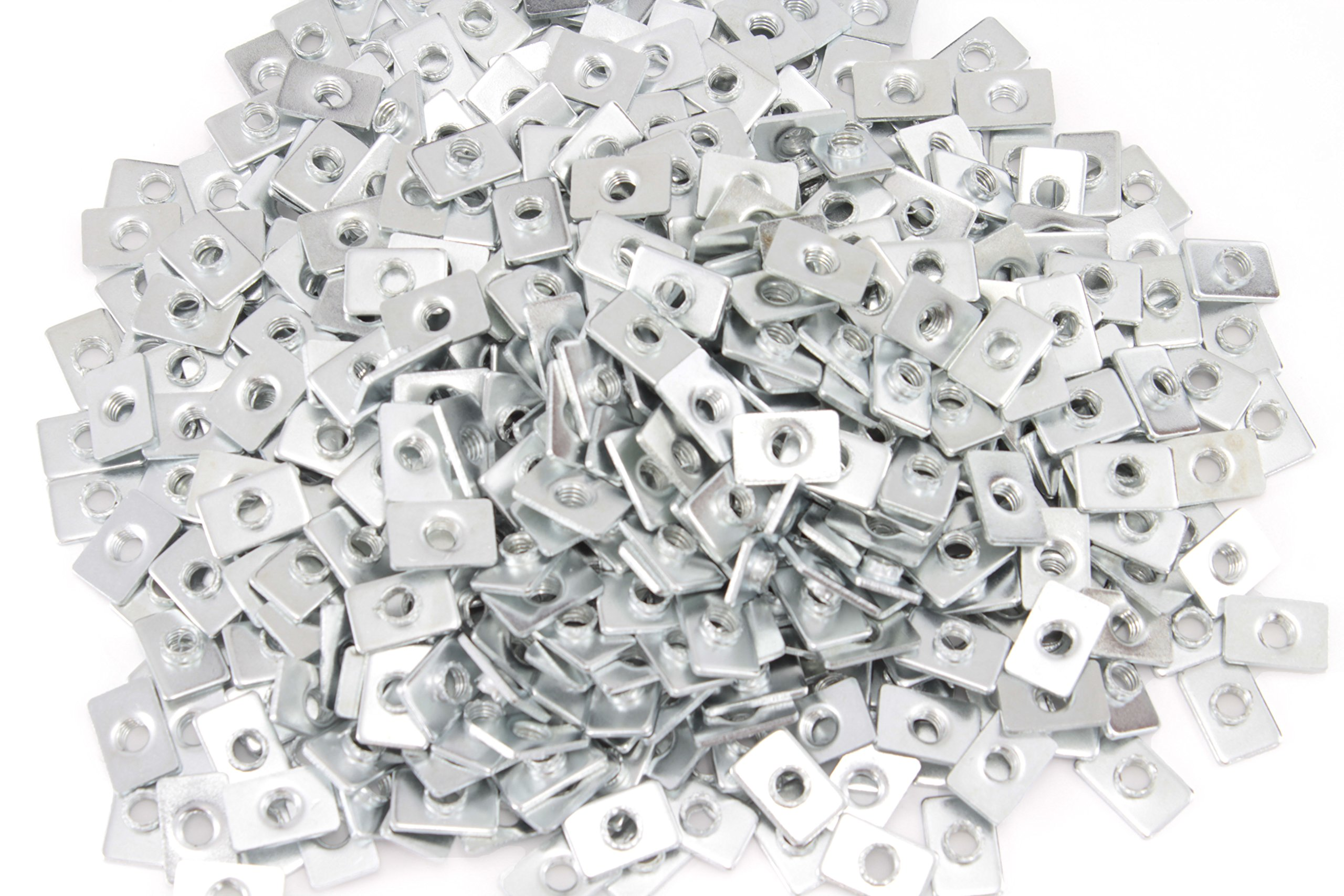 Economy Pre-Assembly M5 T Nut for 20mm T-Slot/V-Slot Aluminum Extrusions (Pack of 500)