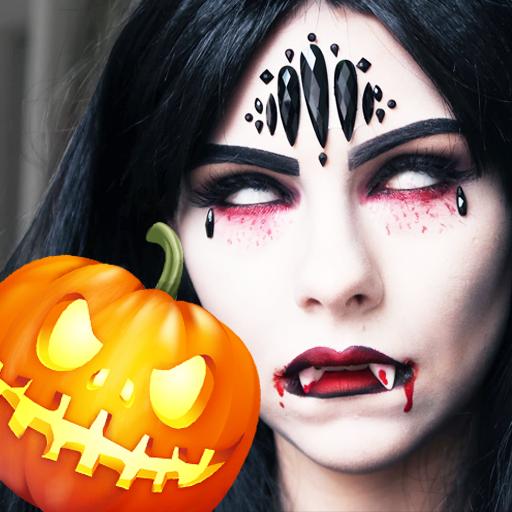 Halloween Frames Photo Editor (Halloween Scary Makeup Photo Editor)