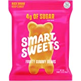 SmartSweets Fruity Gummy Bears, Candy with Low Sugar (4g), Low Calorie, Free From Sugar Alcohols, No Artificial Colors…