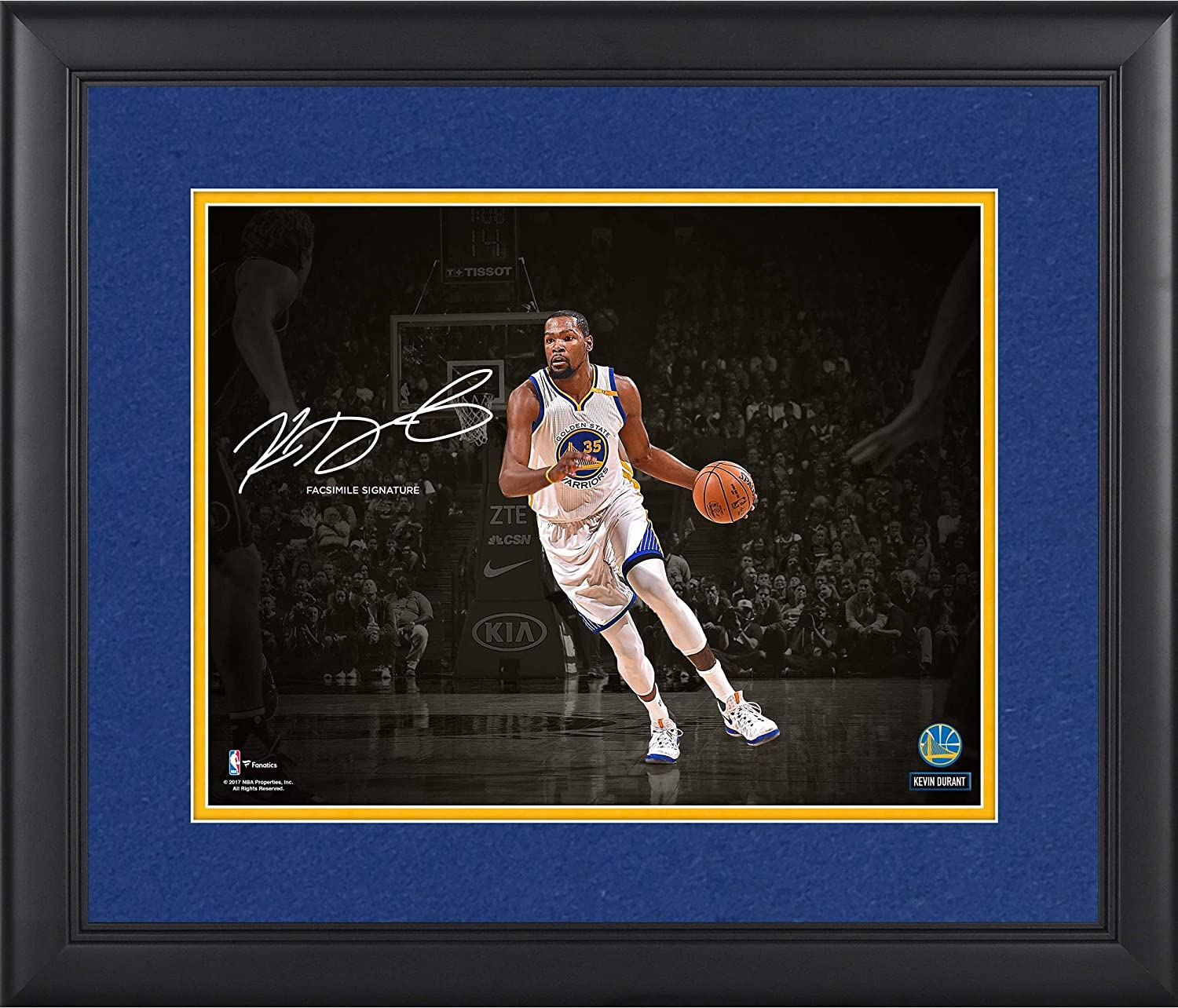 159b6d8f790f Kevin Durant Golden State Warriors Framed 11