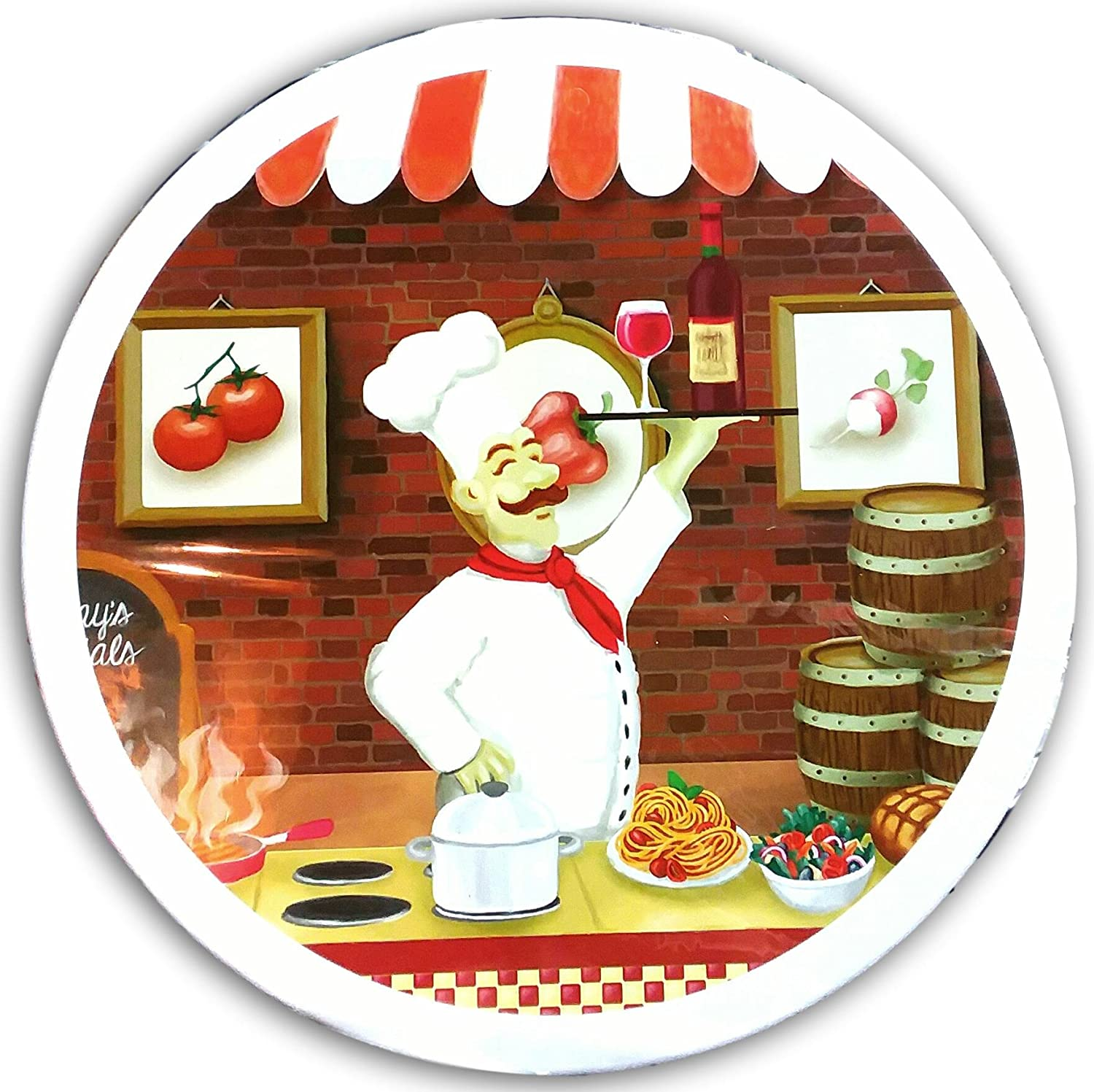 Italy Fat Pizza Chef Electric Stove Burner Covers Amazonco