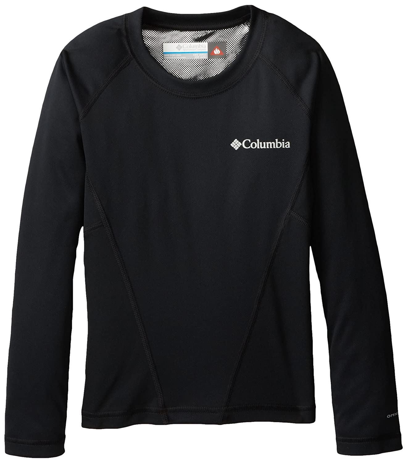 Columbia Boy's Midweight Crew Base Layer Tops X-Large 887921963764