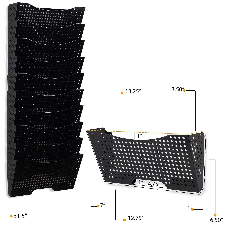Amazon.com: Wallniture Lisbon - Soporte de metal para colgar ...