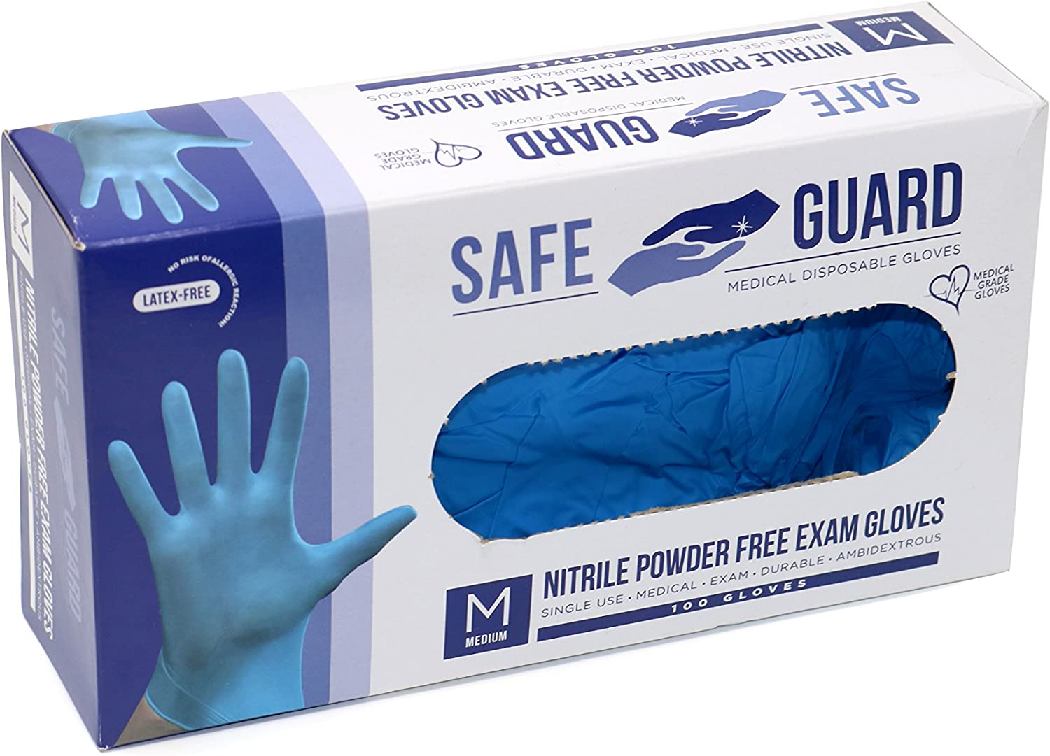 Vinyl Nitrile Free 200pcs Powder-Free Latex Medical Exam Gloves X-Small