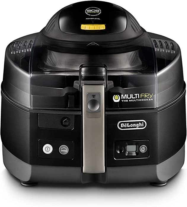 DeLonghi 607647-FH1363/1.BK De'Longhi FH1363 MultiFry Extra, air fryer and Multi Cooker, Black