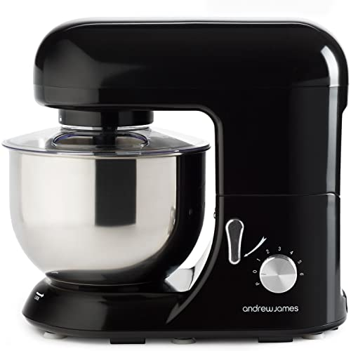 Andrew James Black Stand Mixer