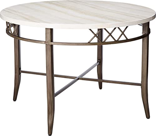 Acme Aldric Faux Marble Dining Table