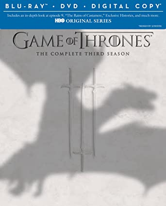 Image result for game of thrones s03 bluray poster
