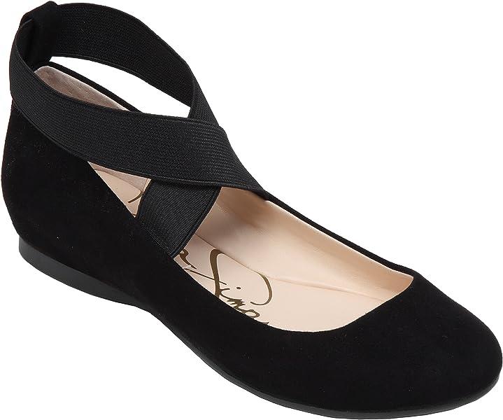 Jessica Simpson Women s Mandayss Ballet Flat (5 B(M) US dd511811913