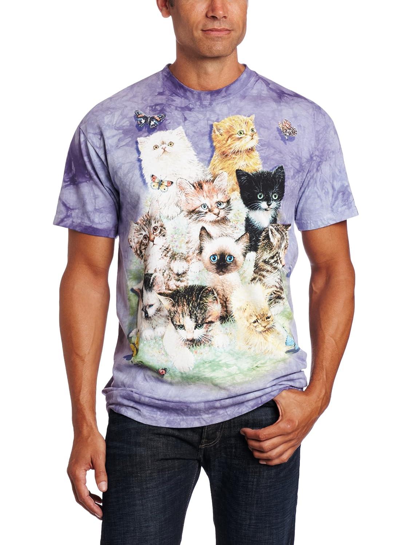 Amazon The Mountain 100% Cotton 10 Kittens T Shirt Clothing