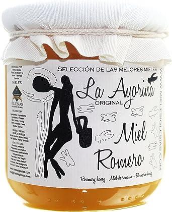 Miel de Romero CRUDA de España. SELECCIONADA. Cosecha propia. (3x500g.) - Marca, La Ayorina, la auténtica original de toda la vida.: Amazon.es: Alimentación y bebidas