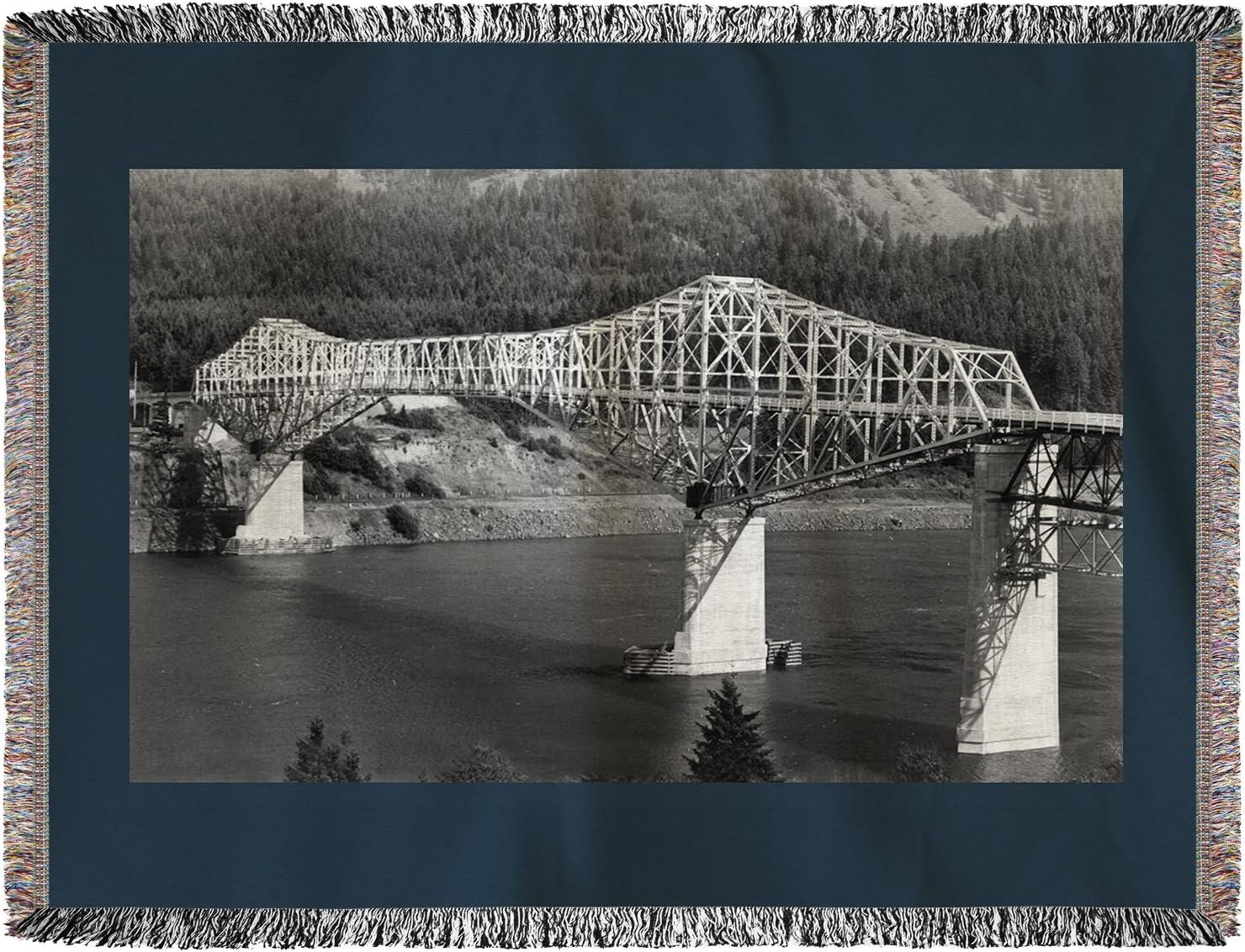 Oregon – Antena view de el puente de los dioses (60 x 80 ...