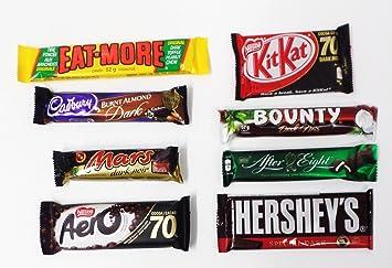 Amazoncom Lot Of 8 Best Selling Canadian Dark Chocolate