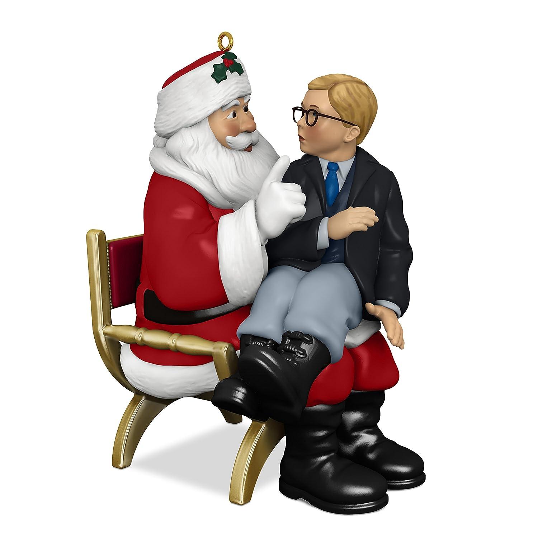 A Christmas Story 2019.Hallmark Keepsake Christmas Ornament 2018 Year Dated A Christmas Story Ho Ho Ho With Sound