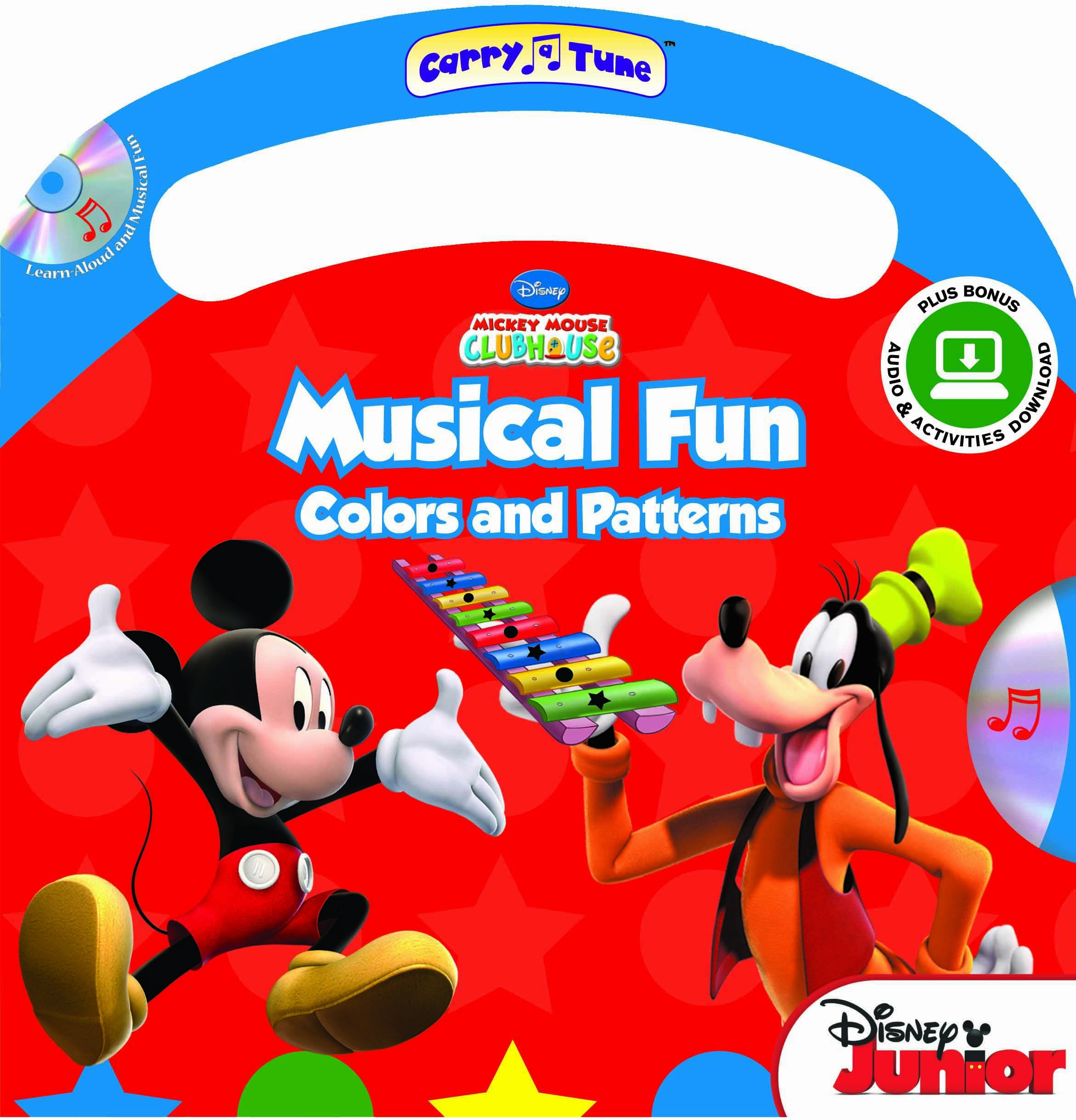 Download Disney Mickey Mouse Clubhouse Musical Fun: Colors and Patterns (Carry-A-Tune book with audio CD and easy-to-download audiobook and printable activities) PDF