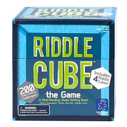 Amazon Educational Insights Riddlecube The Game Toys Games