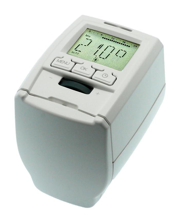 Komforthaus - Termostato de radiador Thermo+, juego de 5 unidades: Amazon.es: Bricolaje y herramientas