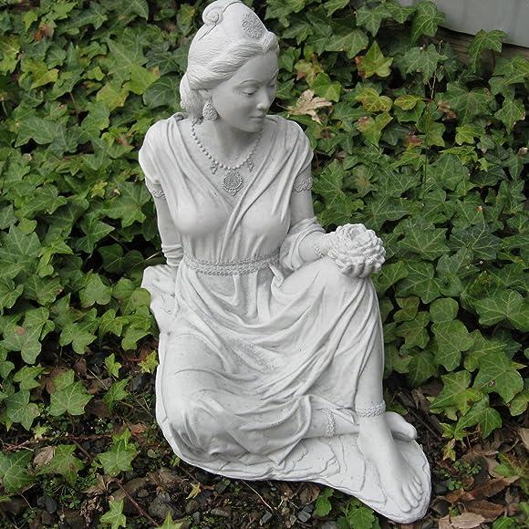 Quan Yin Garden Statue 17 H