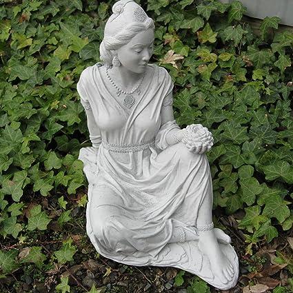 Genial Quan Yin Garden Statue 17u201dH