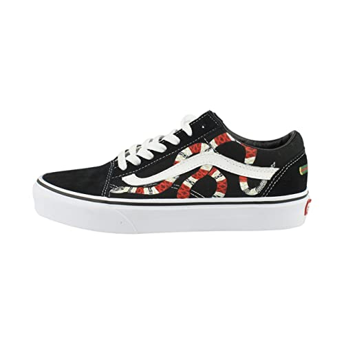 Hand Painted Gucci Snake Vans