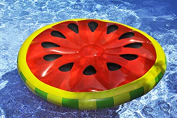 Amazon.com: Barca inflable Swimline con forma de rodaja de ...