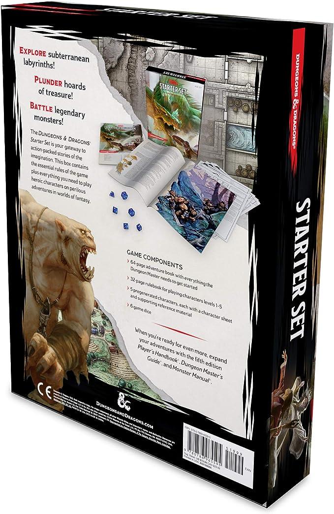 Wizards Of The Coast: Dungeons & Dragons Starter Box: Amazon.es: Wizards Rpg Team: Libros en idiomas extranjeros